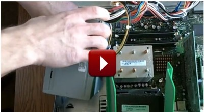 How to replace a computer power supply