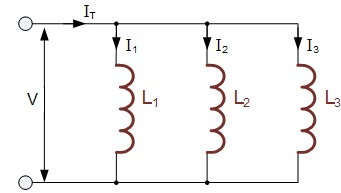 Parallel inductors
