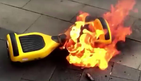 Hover board Lithium-ion-battery-fire