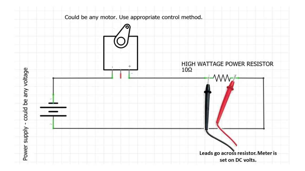 Measuring-Current-Draw-of-DC-Motor