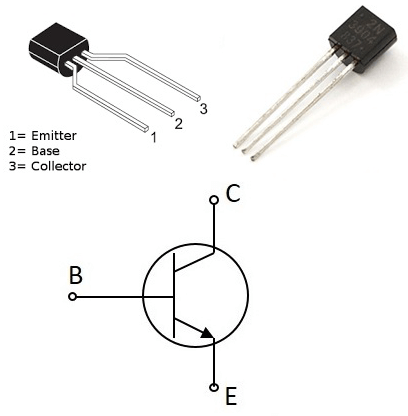 What is a transistor? Here's an NPN BJT